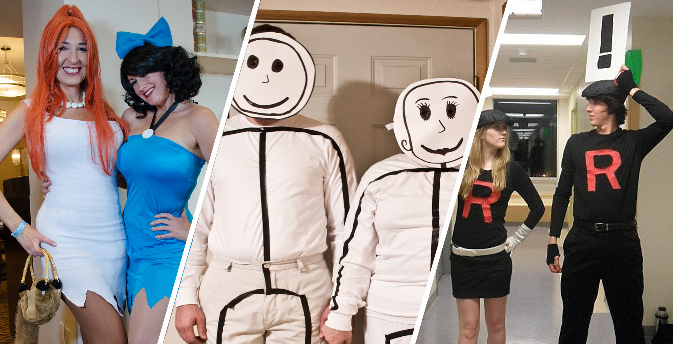 Last-Minute DIY Halloween Couples Costumes for Under $20