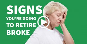 Signs You're Going to Retire Broke