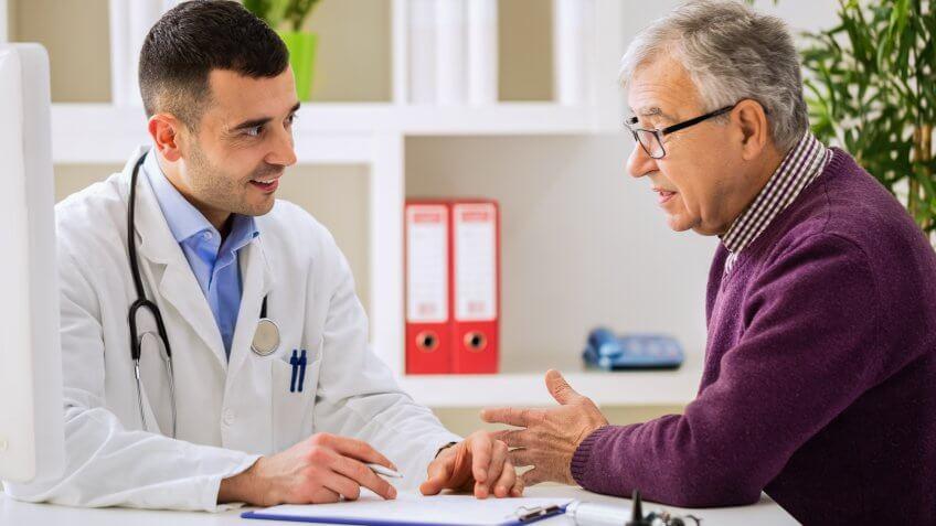 Overestimate healthcare costs