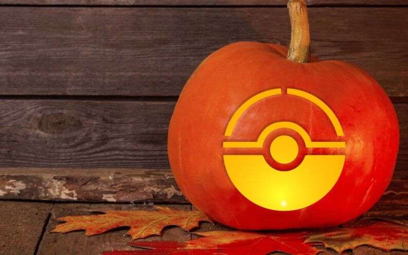 pokemon jack o lantern template - 15 free printable pumpkin carving templates gobankingrates
