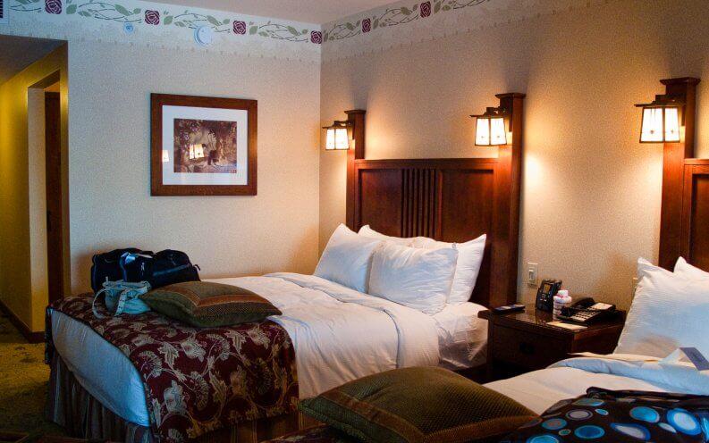 Grand Californian hotel rooms.