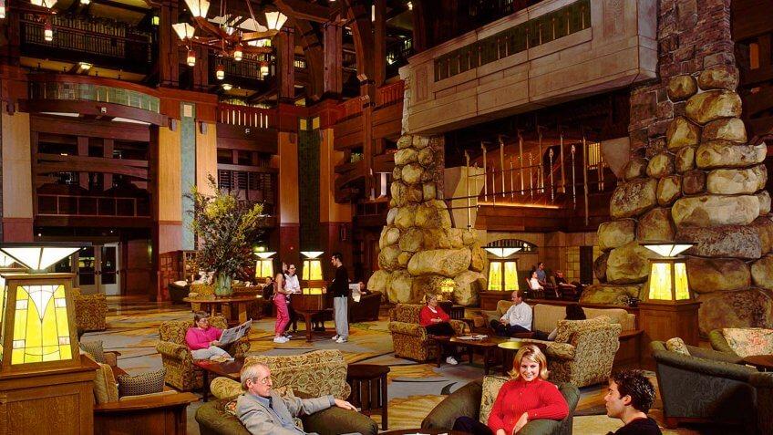 Grand Californian hotel suites.