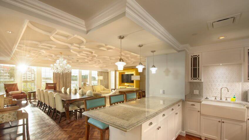 The Villas at Grand Floridian resort.