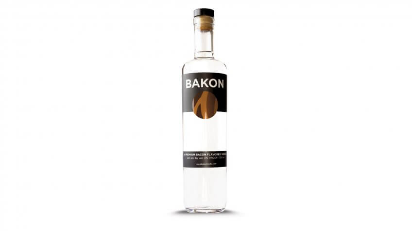 bacon bakon vodka