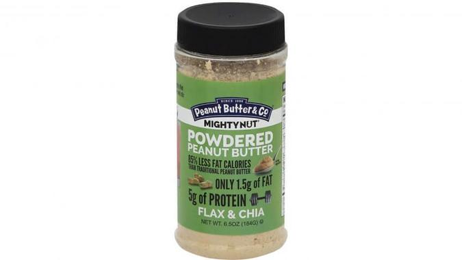 Powdered Peanut Butter With Flax and Chia