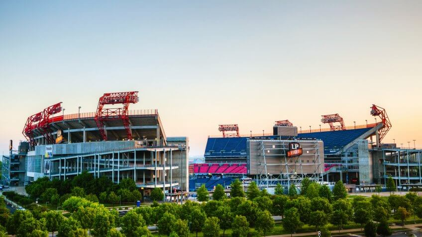 Tennessee Titans Game at Nissan Stadium: $194.30, Tennessee-Titans-Nissan-Stadium