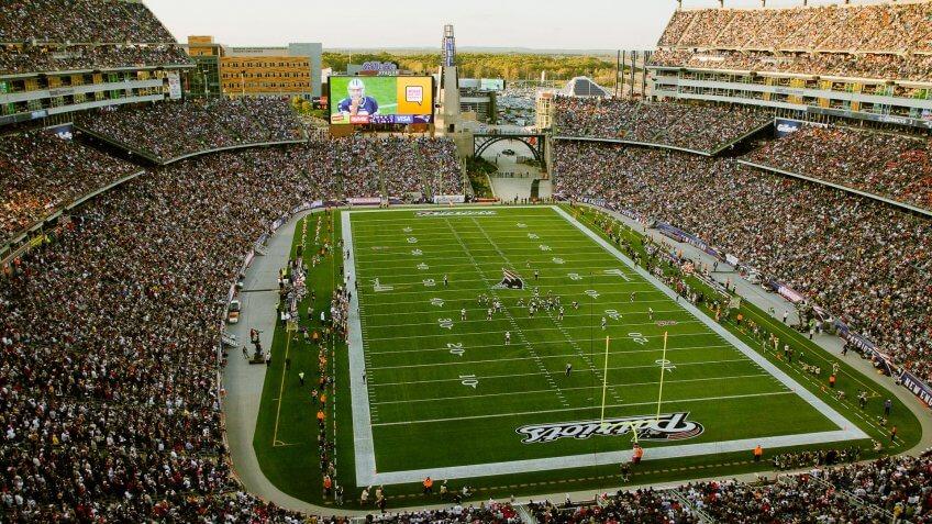 New England Patriots Game at Gillette Stadium: $331.96, New-England-Patriots-Gillette-Stadium