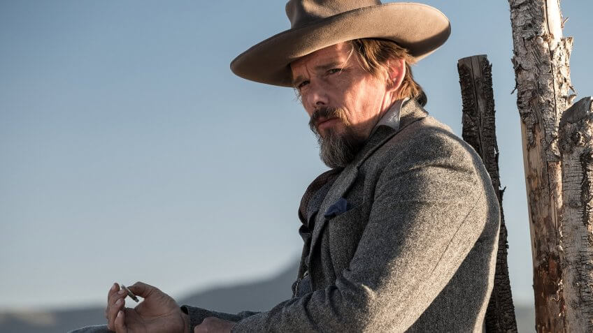 Ethan Hawke in The Magnificent Seven