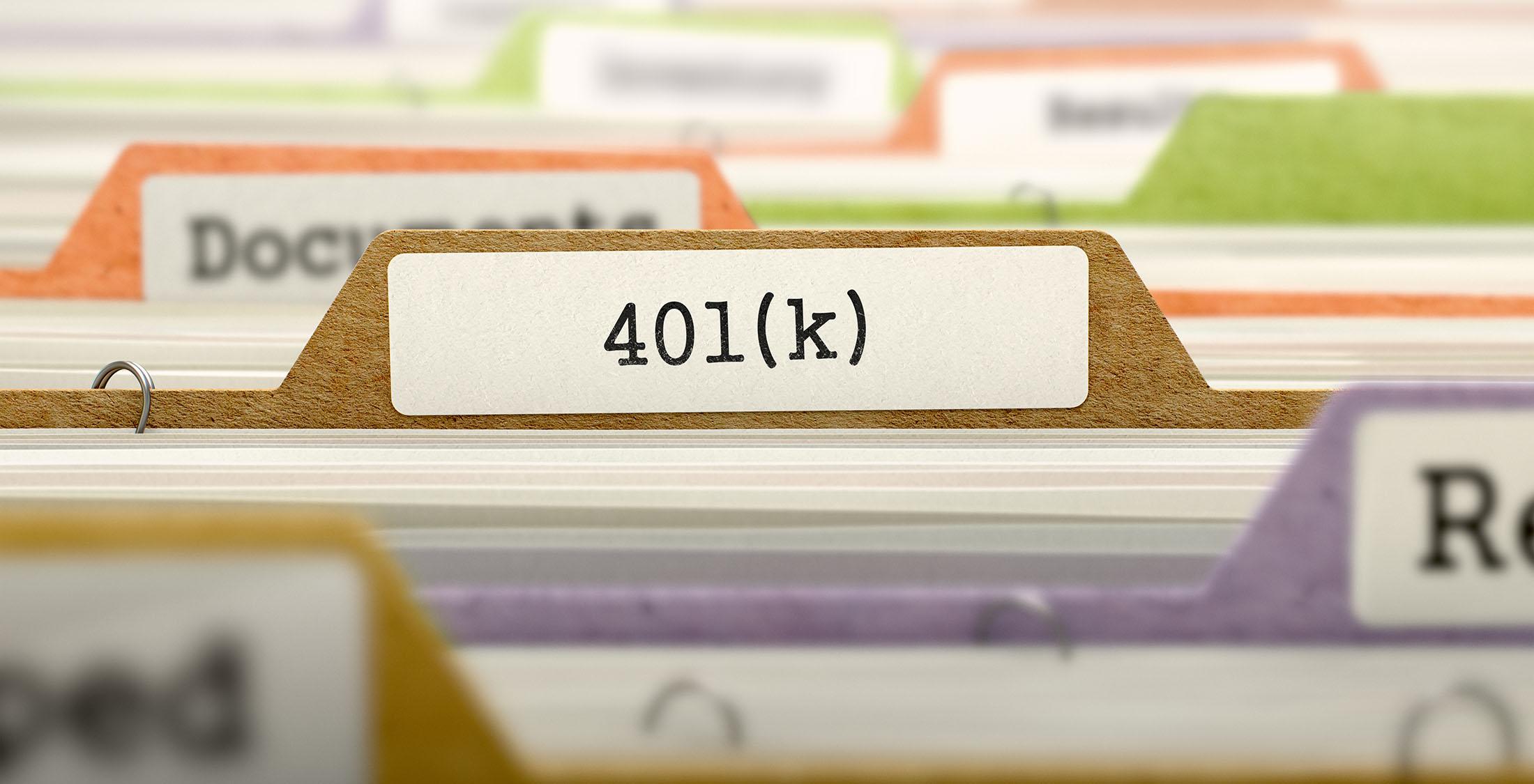 401k portfolio tab