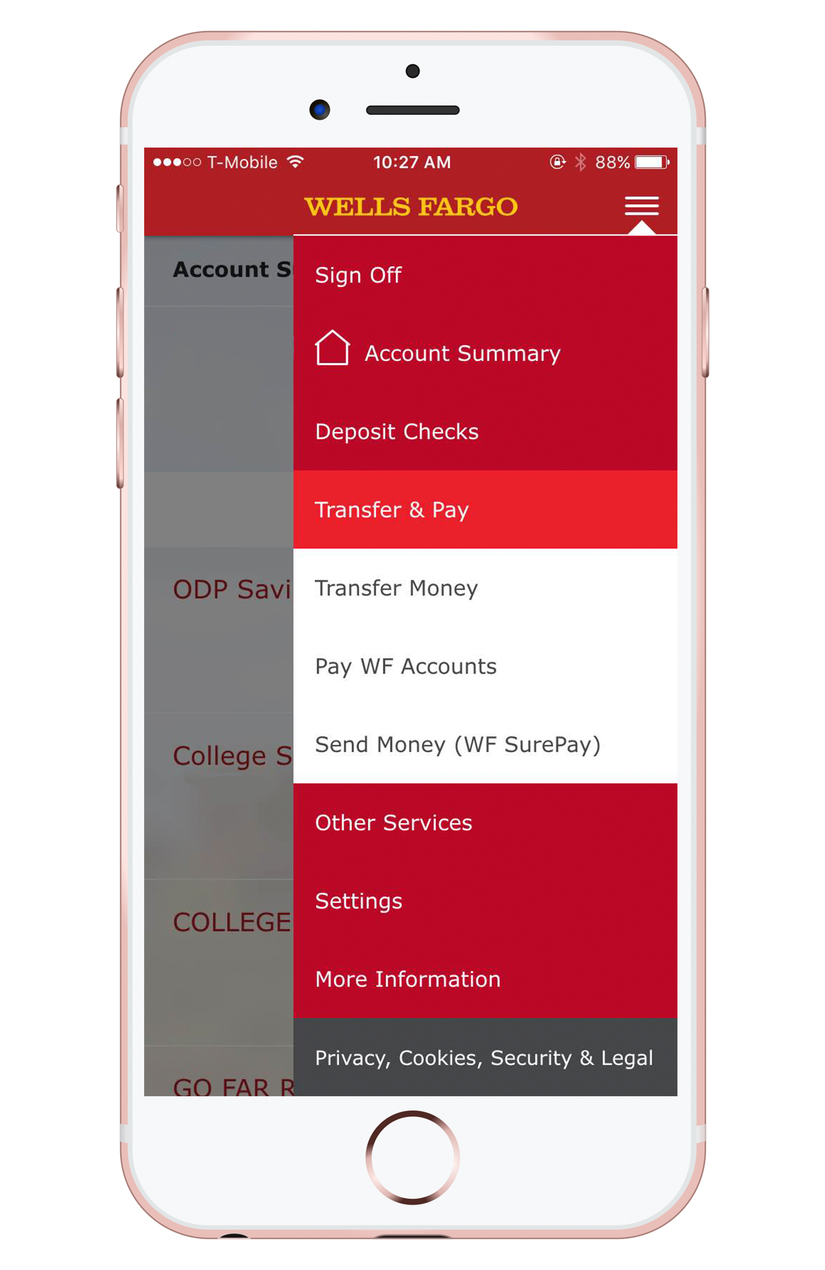 the pros and cons of wells fargo surepay gobankingrates wells fargo surepay screenshot