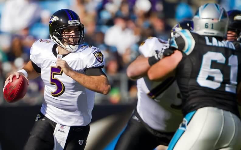 Joe Flacco Baltimore Ravens