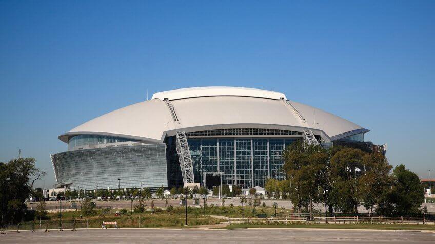 Dallas Cowboys Game at AT&T Stadium: $333.40, Dallas-Cowboys-ATT-Stadium