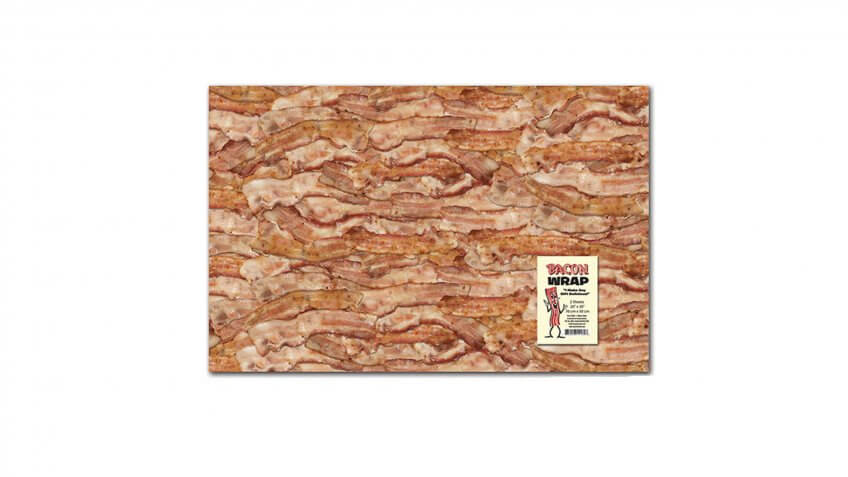 bacon gift wrap