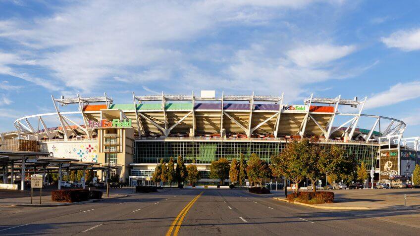 Washington Redskins Game at FedEx Field: $336.54, Washington-Redskings-FedEx-Field