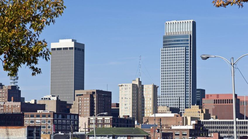 Omaha Nebraska skyline
