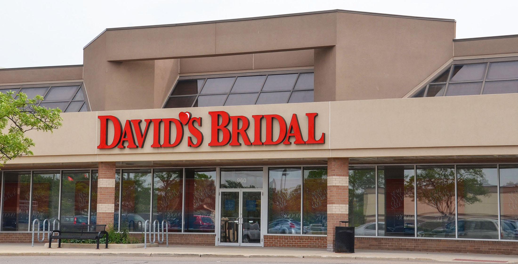 David's Bridal store