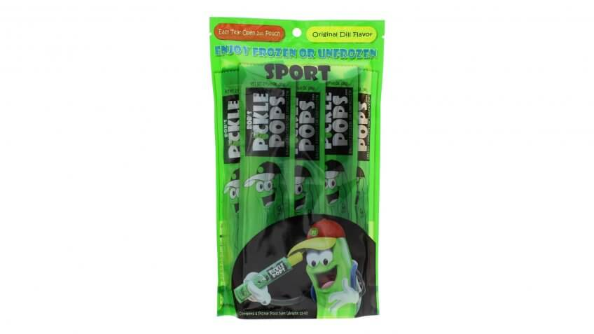 Pickle-Flavored Ice Pops
