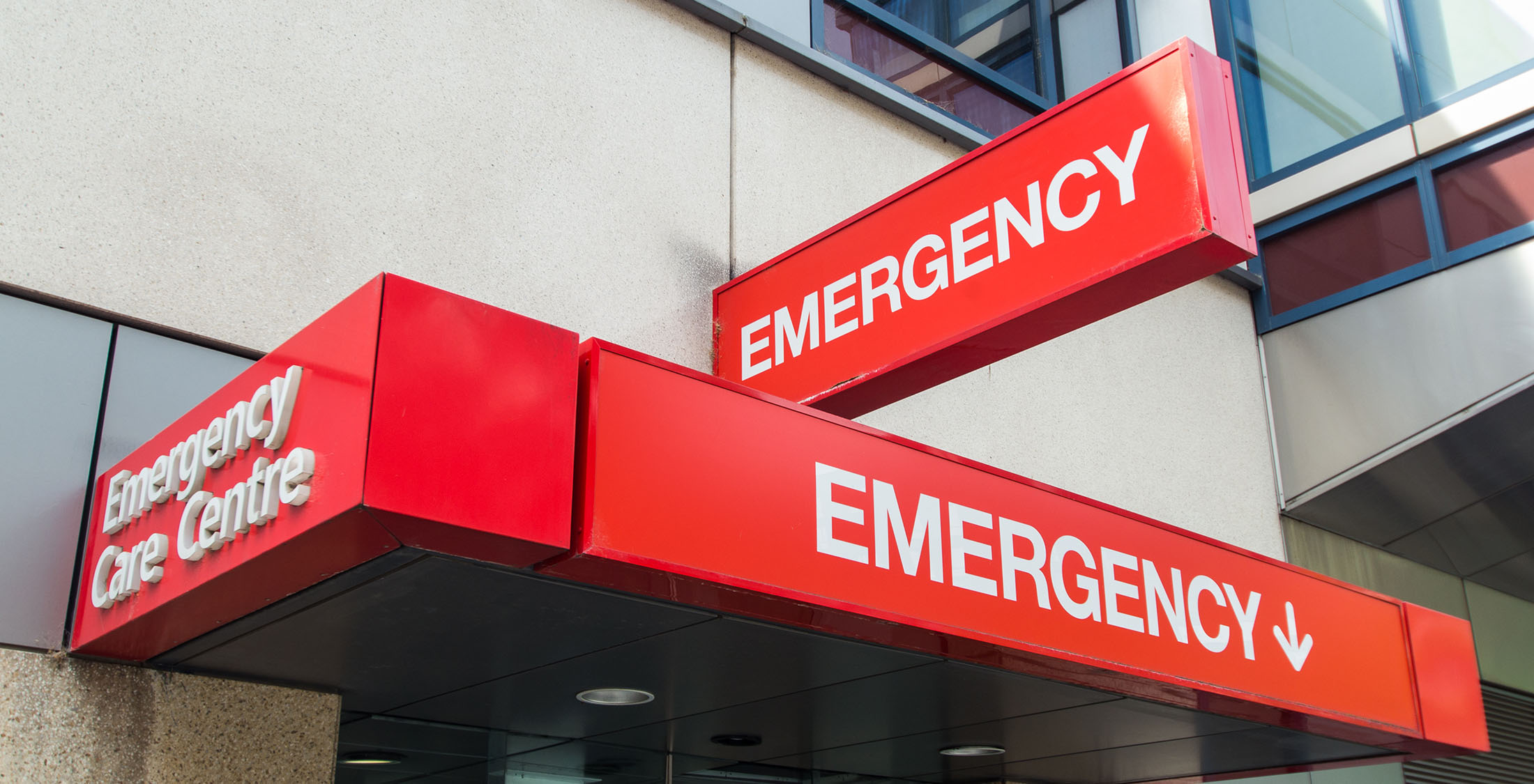 emergency room marquee