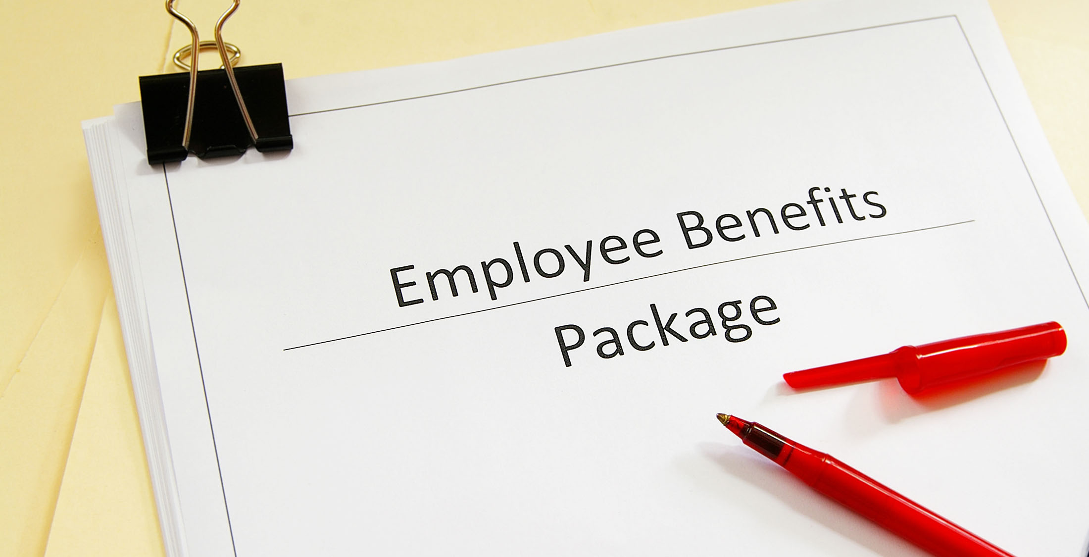 employee benefits document