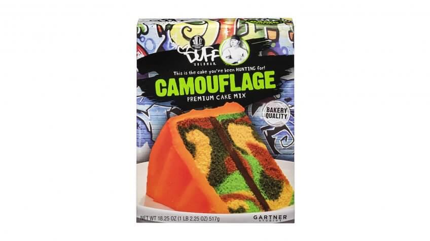 Camouflage Cake Mix