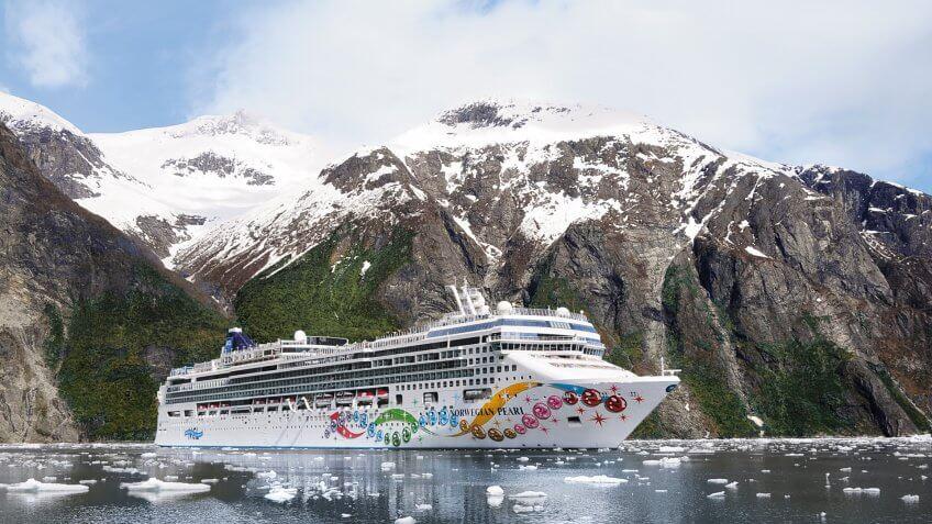 Norwegian Pearl - Alaska.