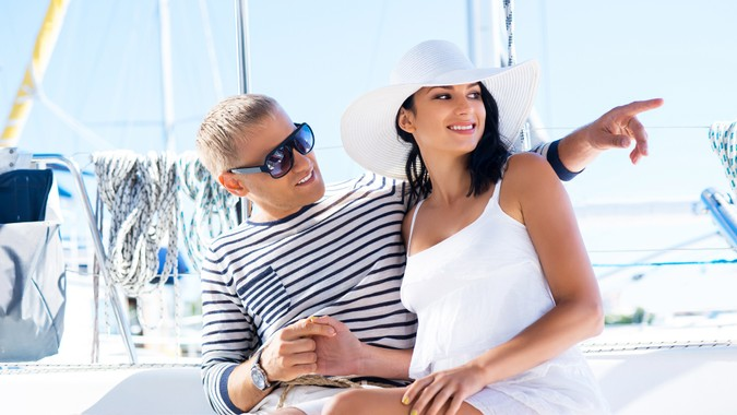 wealthy-couple-sailing
