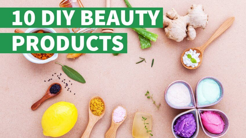 Skip the Spa Price Tag — 10 DIY Beauty Products for Home Use