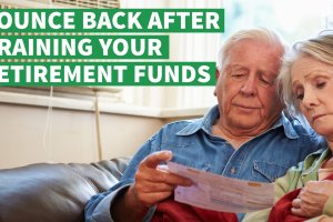 How to Bounce Back After Draining Your Retirement Funds