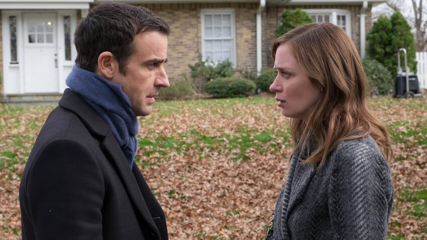 Who's Richer From 'The Girl on the Train' Cast — Emily Blunt or Justin Theroux?