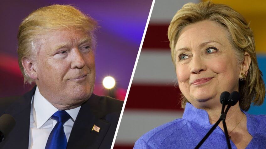 Hillary Clinton's vs. Donald Trump's Policies at the 2nd Presidential Debate