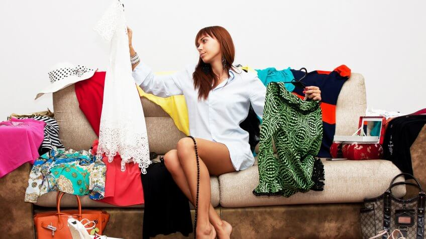 Host a clothing swap.