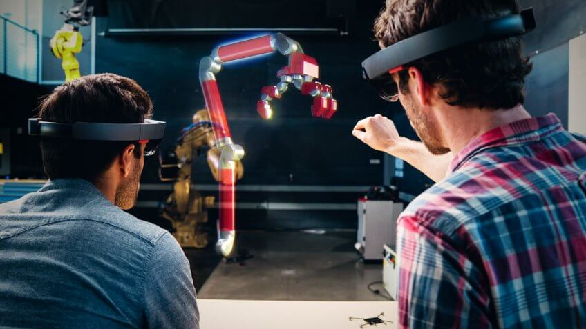 Microsoft offers the HoloLens