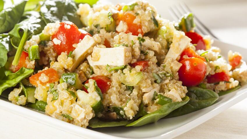 vegetarian quinoa dish