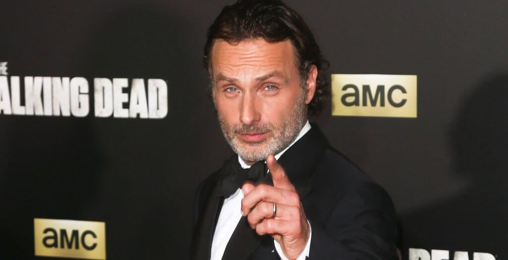 Andrew Lincoln at Walking Dead premiere