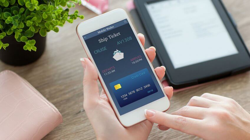 mobile wallet smartphone app