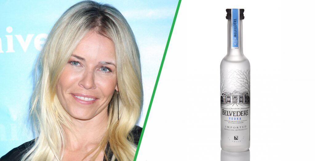 Chelsea Handler Belvedere Vodka