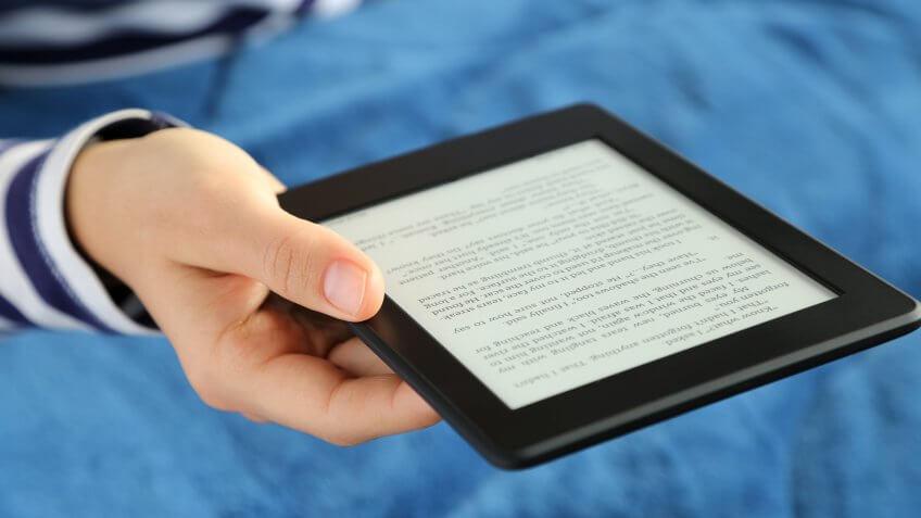 Take advantage of Amazon's free e-book library.