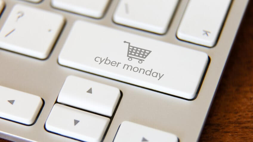 cyber monday keyboard button