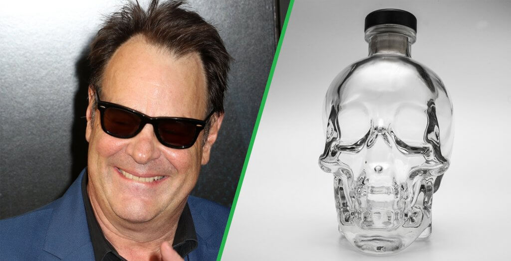Dan Aykroyd Crystal Head Vodka