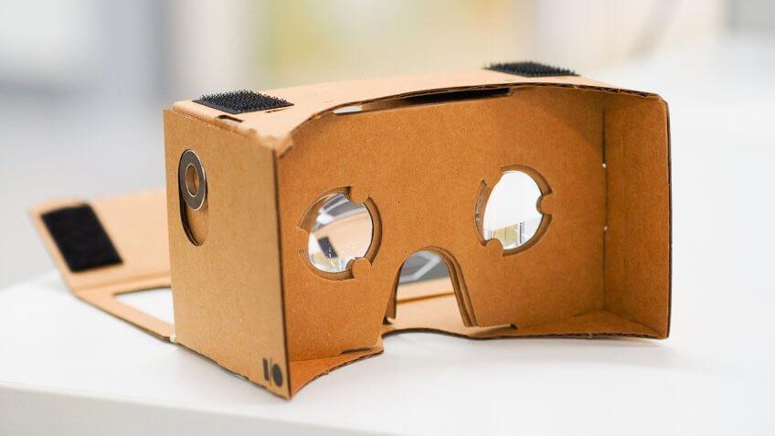 Google's Cardboard VR headset