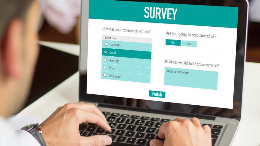 Take surveys.