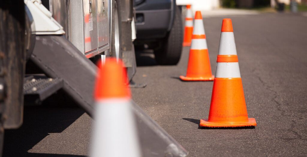 street cones