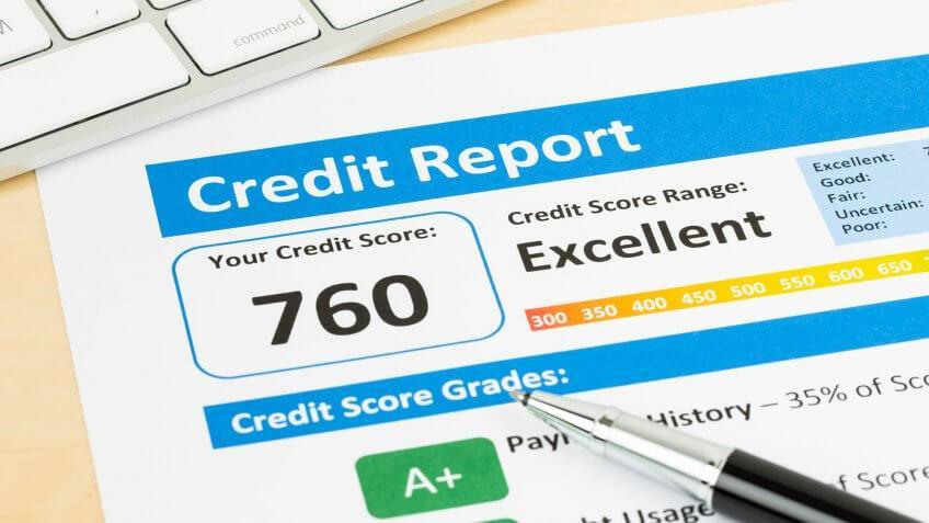 a credit report