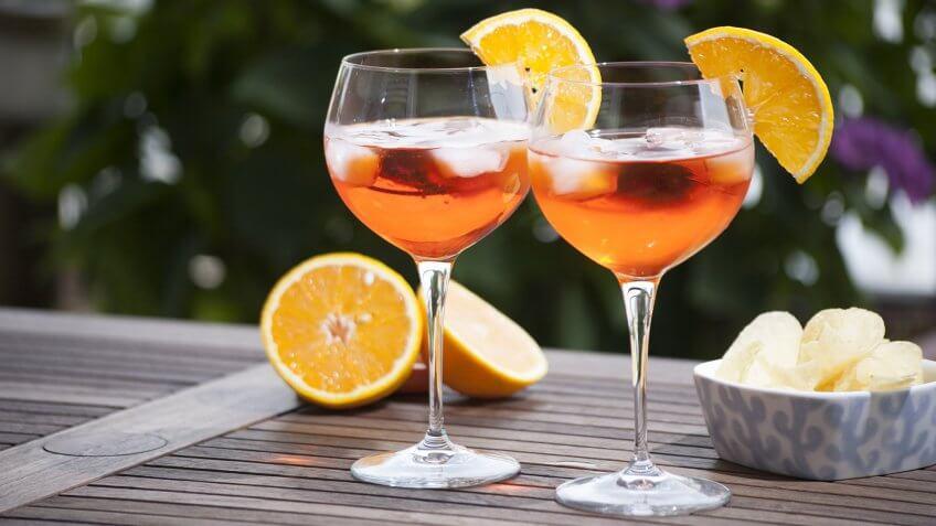 wine spritzers