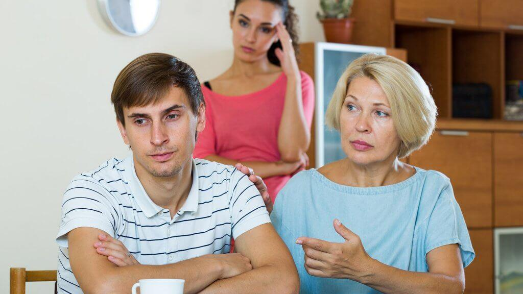 family members upset with each other