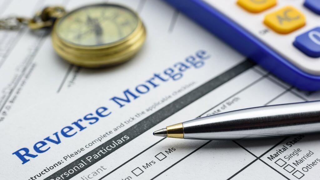 reverse mortgage application