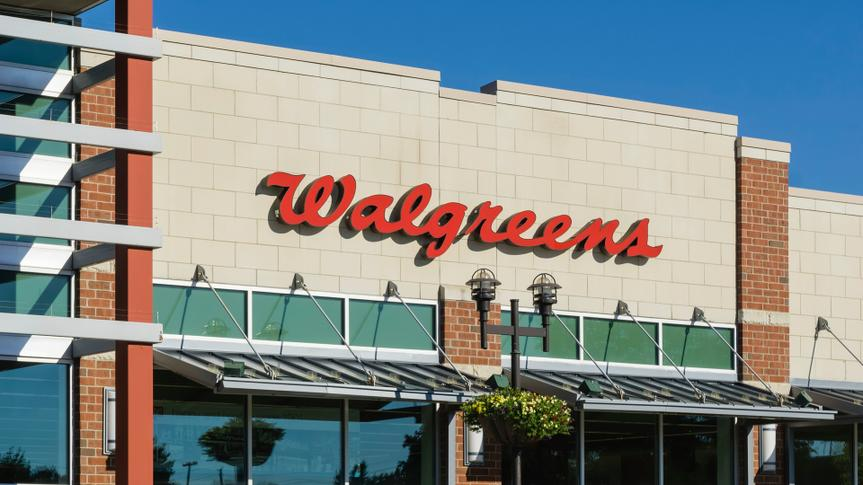 Rochester Hills, Michigan, USA - September 12, 2016: The Walgreens on North Rochester Road in Rochester Hills, Michigan.