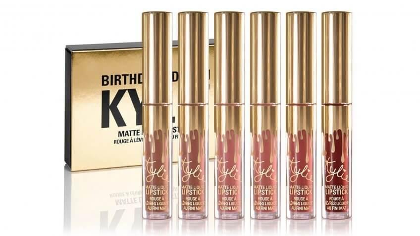 Kylie Jenner's lip kits.