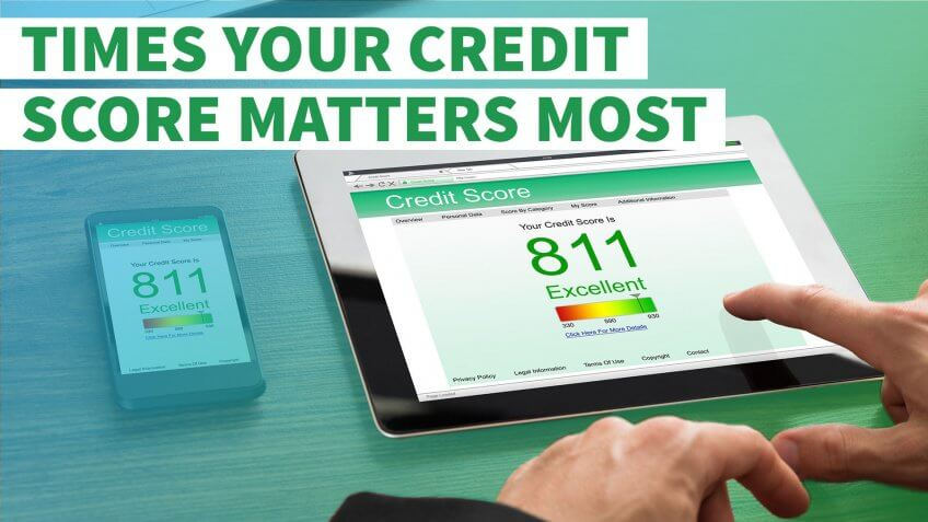 6 Times Your Credit Score Matters Most