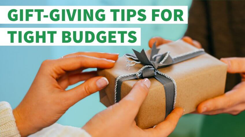 Gift-Giving Ideas for Tight Budgets